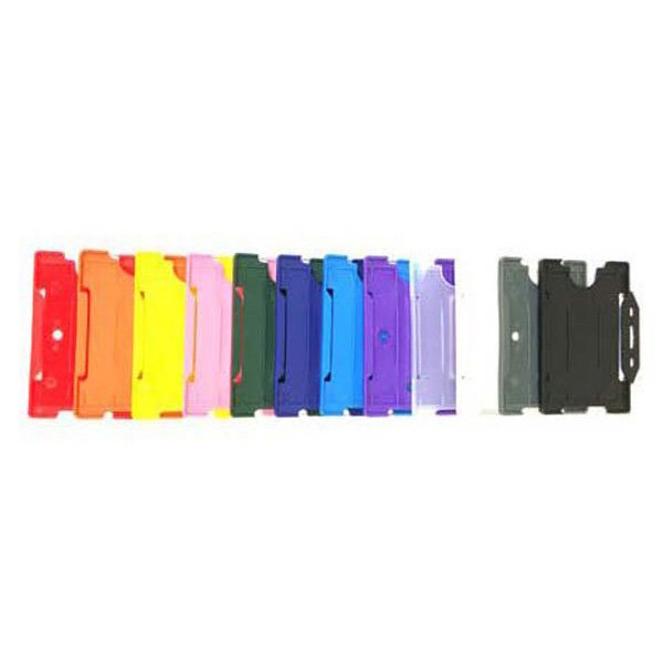 Rigid Plastic ID Card Holders - For Card Holder Lanyards