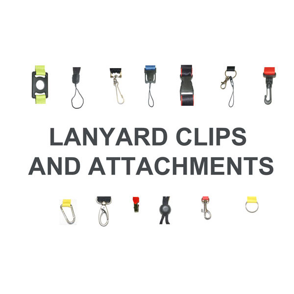 Lanyard Accessories, ski reels & clips