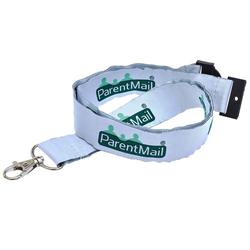 Custom Satin Woven Lanyards