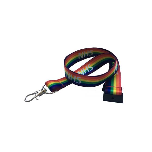 NHS Rainbow Lanyard