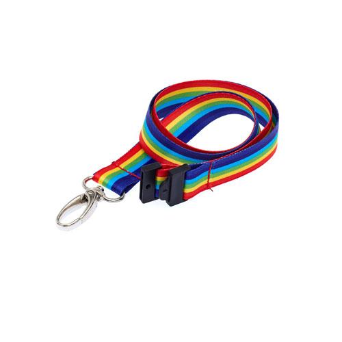 Rainbow Lanyard - Pride Lanyard - LGBT Lanyard