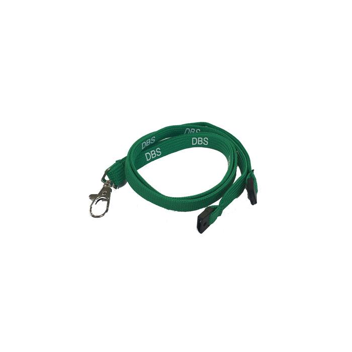 Green DBS Lanyard