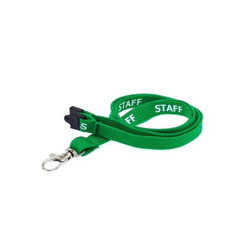 Green Staff Lanyard