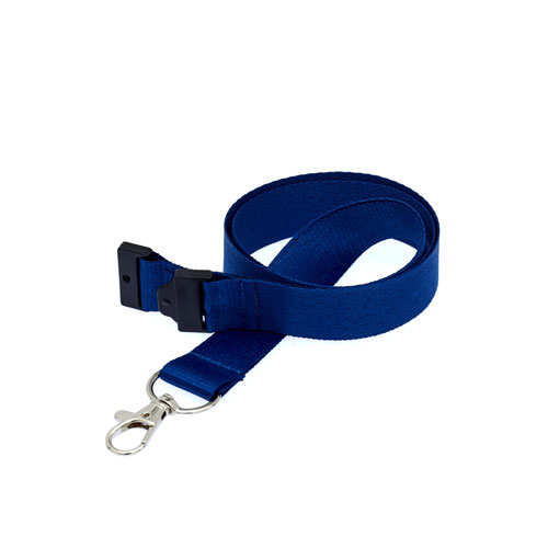 Navy Blue Lanyard