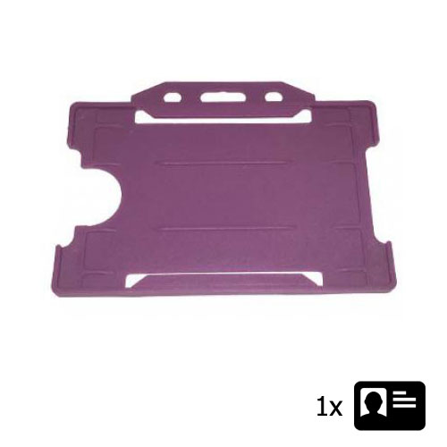 Purple ID Cardholder