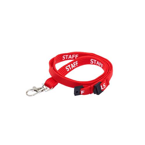 Red Staff Lanyard