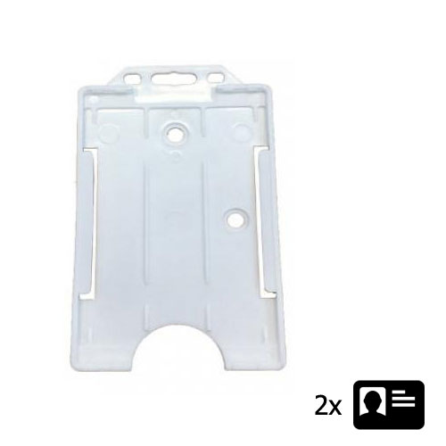 White ID Cardholder