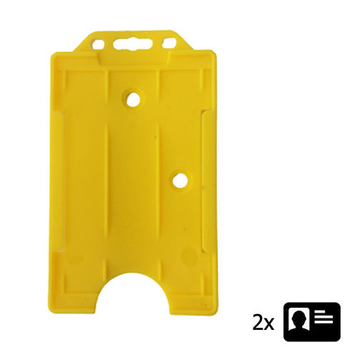 Yellow ID Cardholder