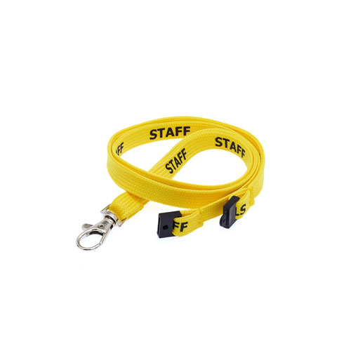 Staff Lanyard - Pre-printed Staff Lanyards